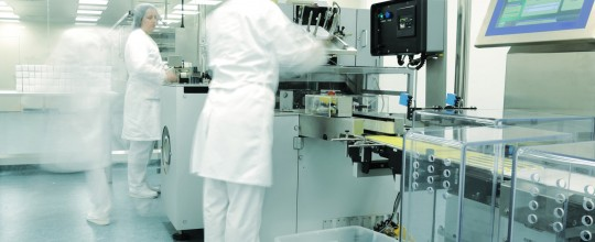 Pharma-modern-production-line