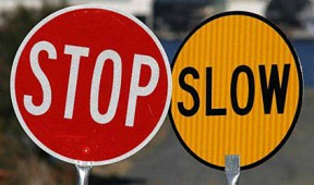 Traffic Control-Stop-Slow Bats